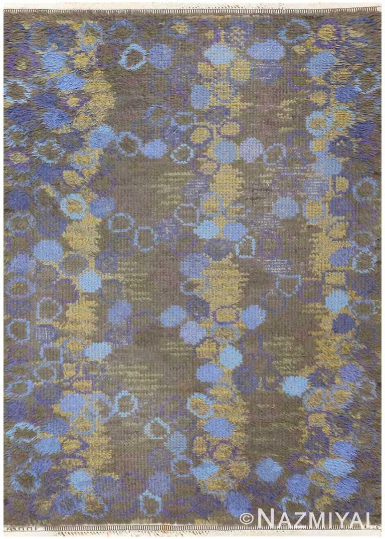 Vintage Scandinavian Carpet by Marta Maas Fjetterstrom 48544