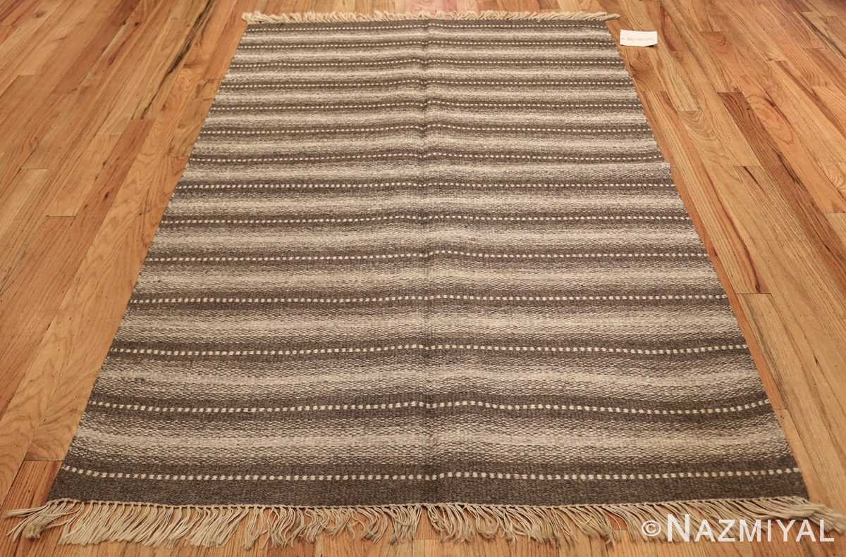 vintage scandinavian swedish kilim 48509 whole Nazmiyal