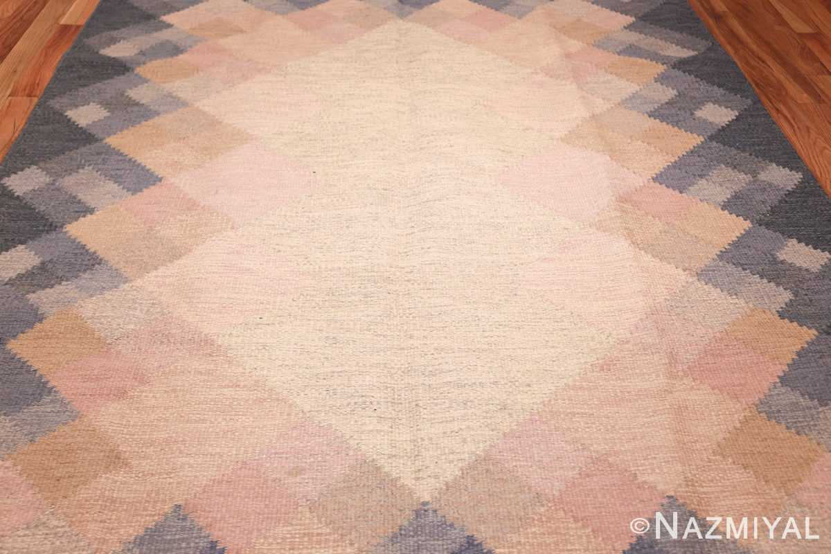 vintage swedish kilim by britta swefors 48507 field Nazmiyal