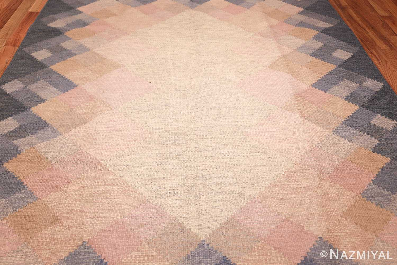 vintage swedish kilim by britta swefors 48507 field Nazmiyal