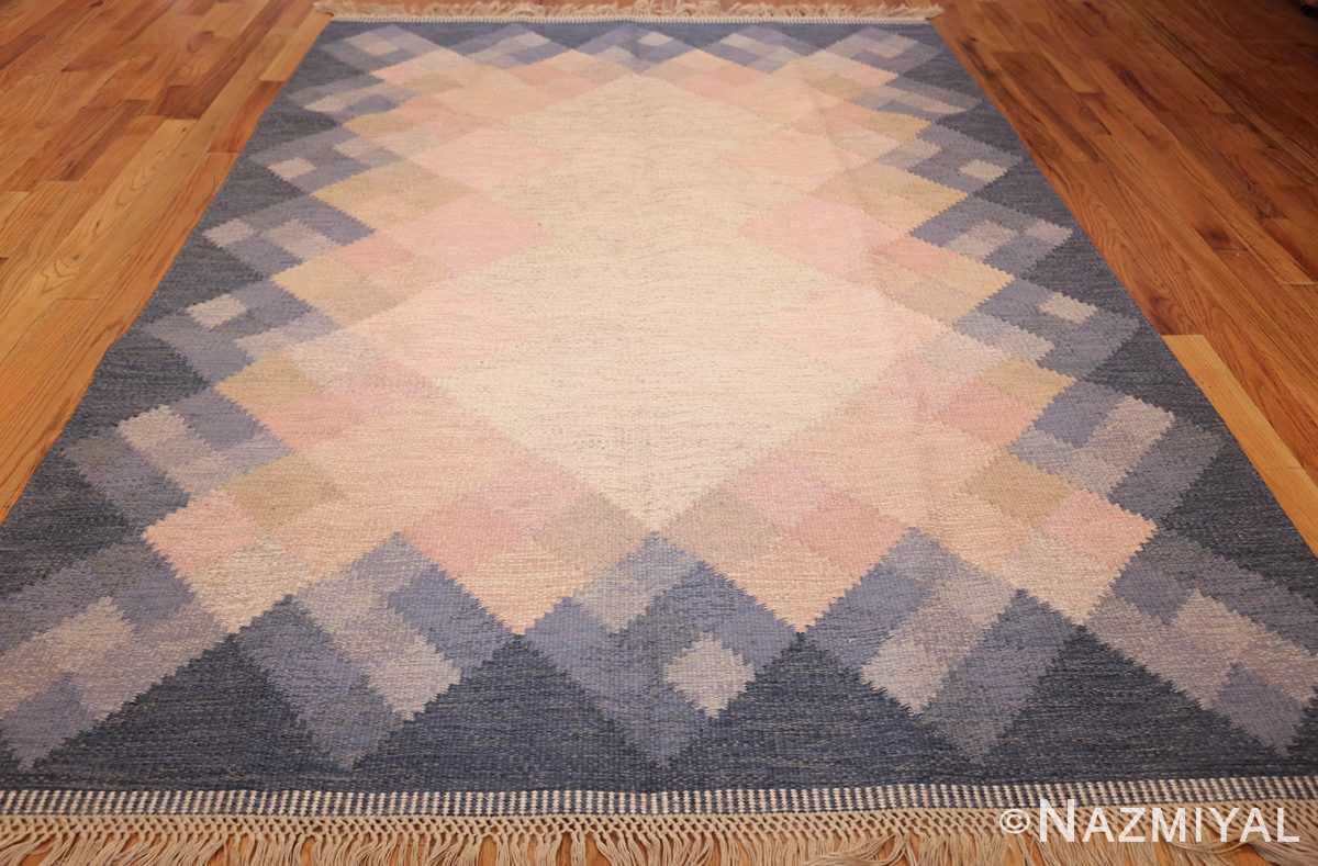 vintage swedish kilim by britta swefors 48507 whole Nazmiyal