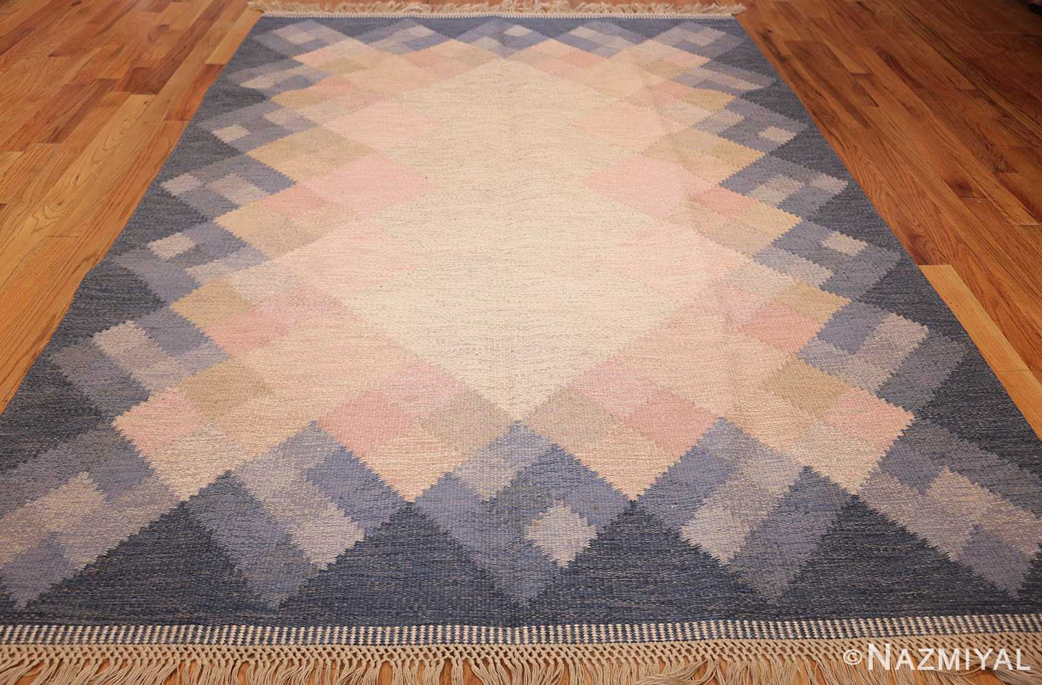 vintage swedish kilim by britta swefors 48507 whole Nazmiyal