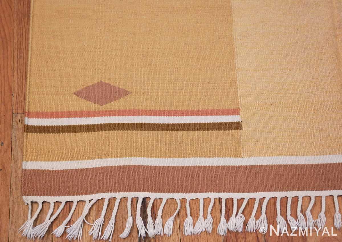 Vintage Swedish Rug by Anna Joanna Angstrom 48540 Geometric Corner Nazmiyal
