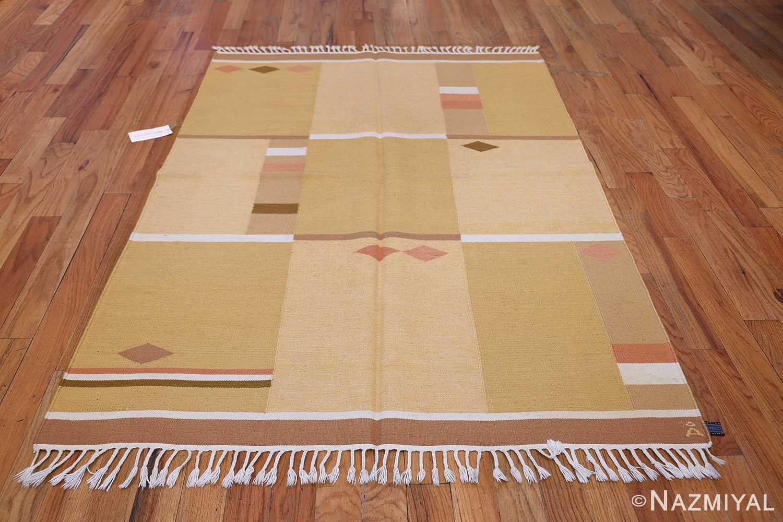 Vintage Swedish Rug by Anna Joanna Angstrom 48540 Whole Design Nazmiyal