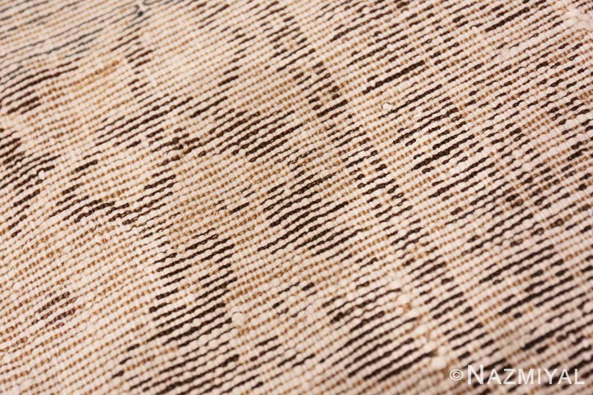 Weave detail Antique Persian Malayer carpet 50196 by Nazmiyal