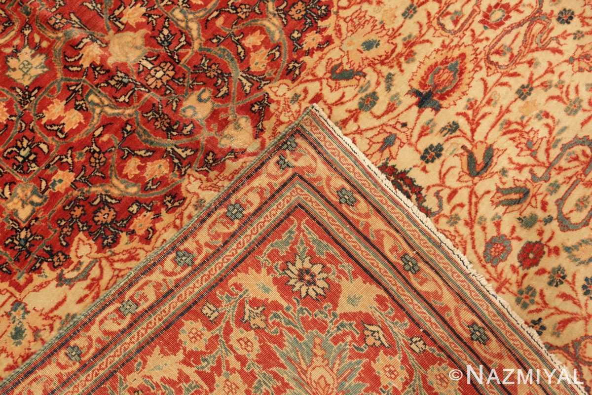 Weave Fine and intricate antique Tabriz carpet 50312 by Nazmiyal