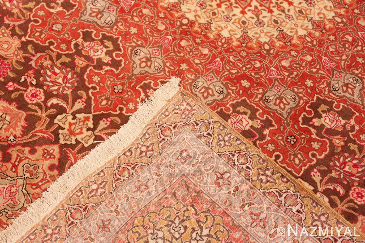 Weave Silk and wool room sized Tabriz Persian carpet 50251 by Nazmiyal