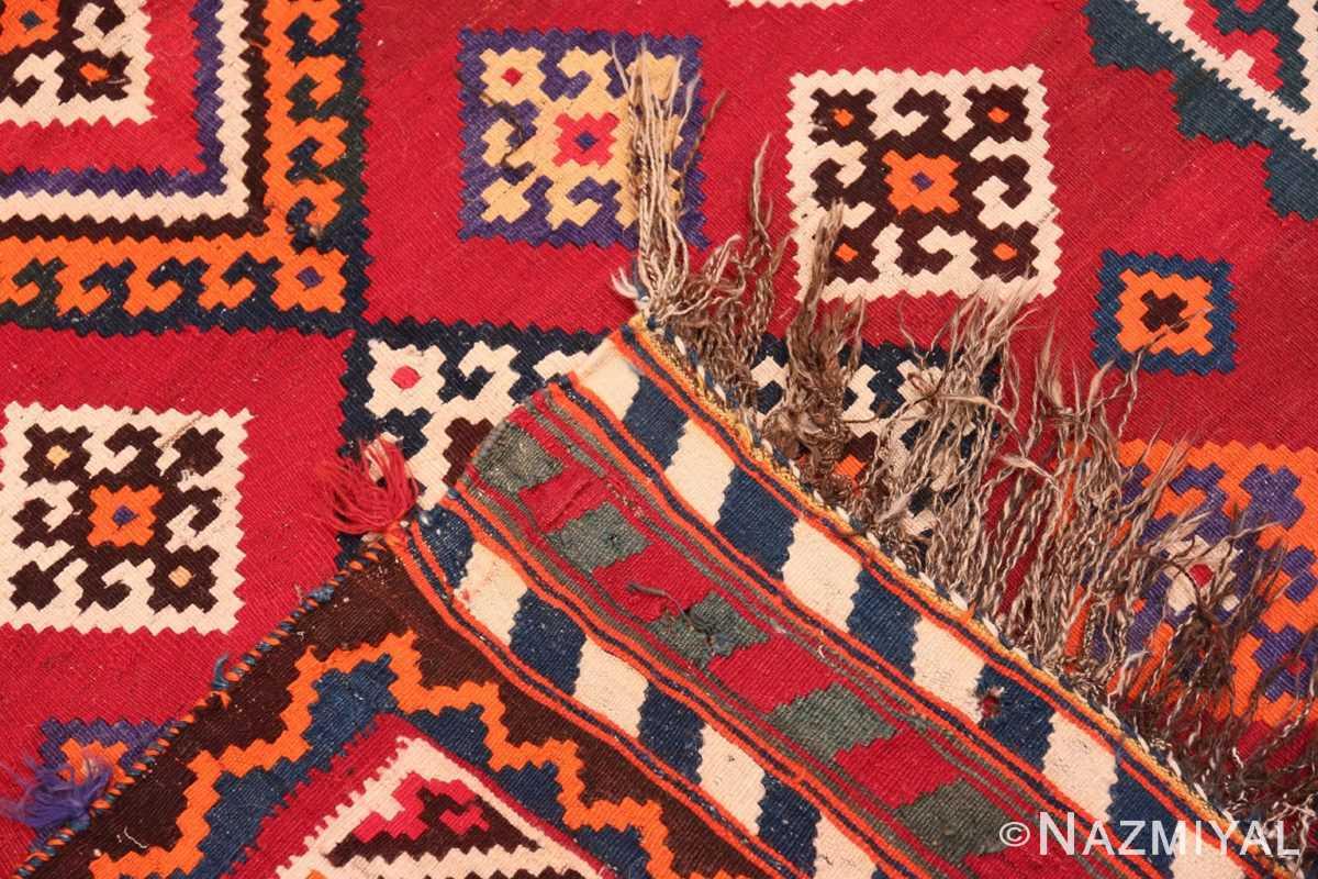Weave Tribal Antique Persian Ghasgai rug 50269 by Nazmiyal