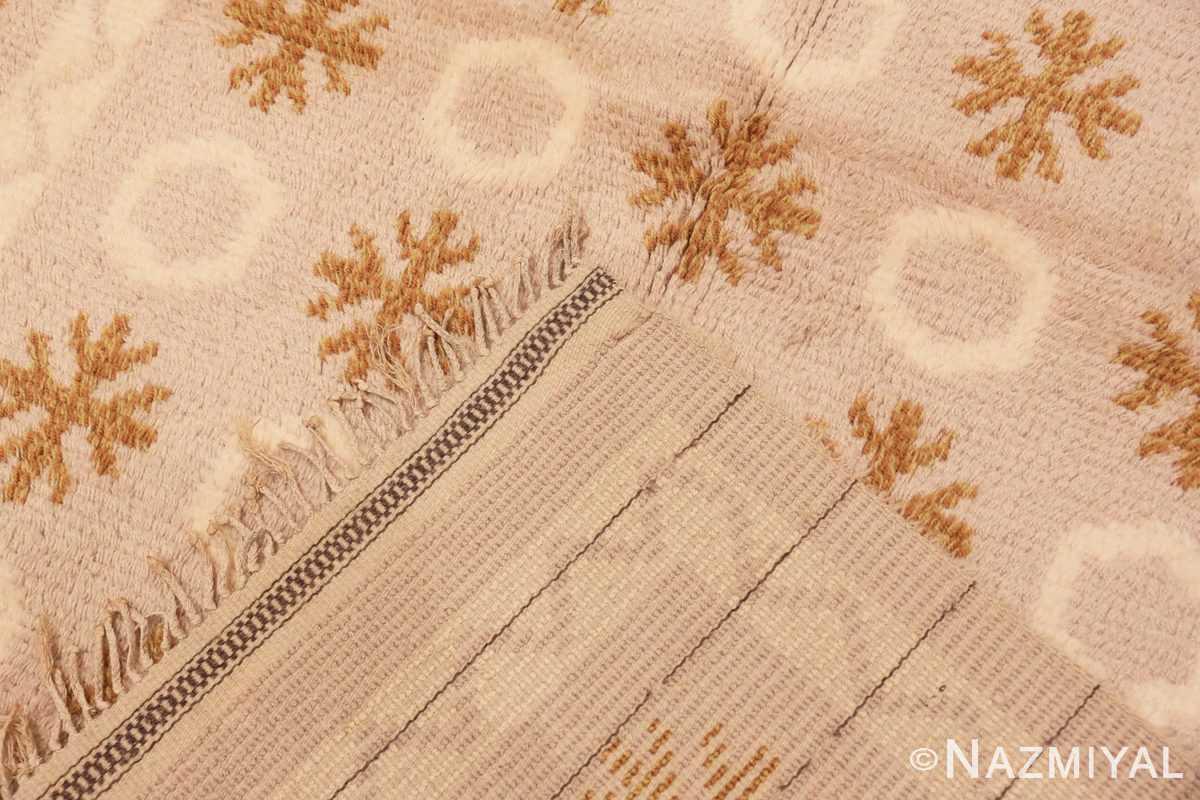 Weave Vintage Swedish Rya rug 48506 by Nazmiyal