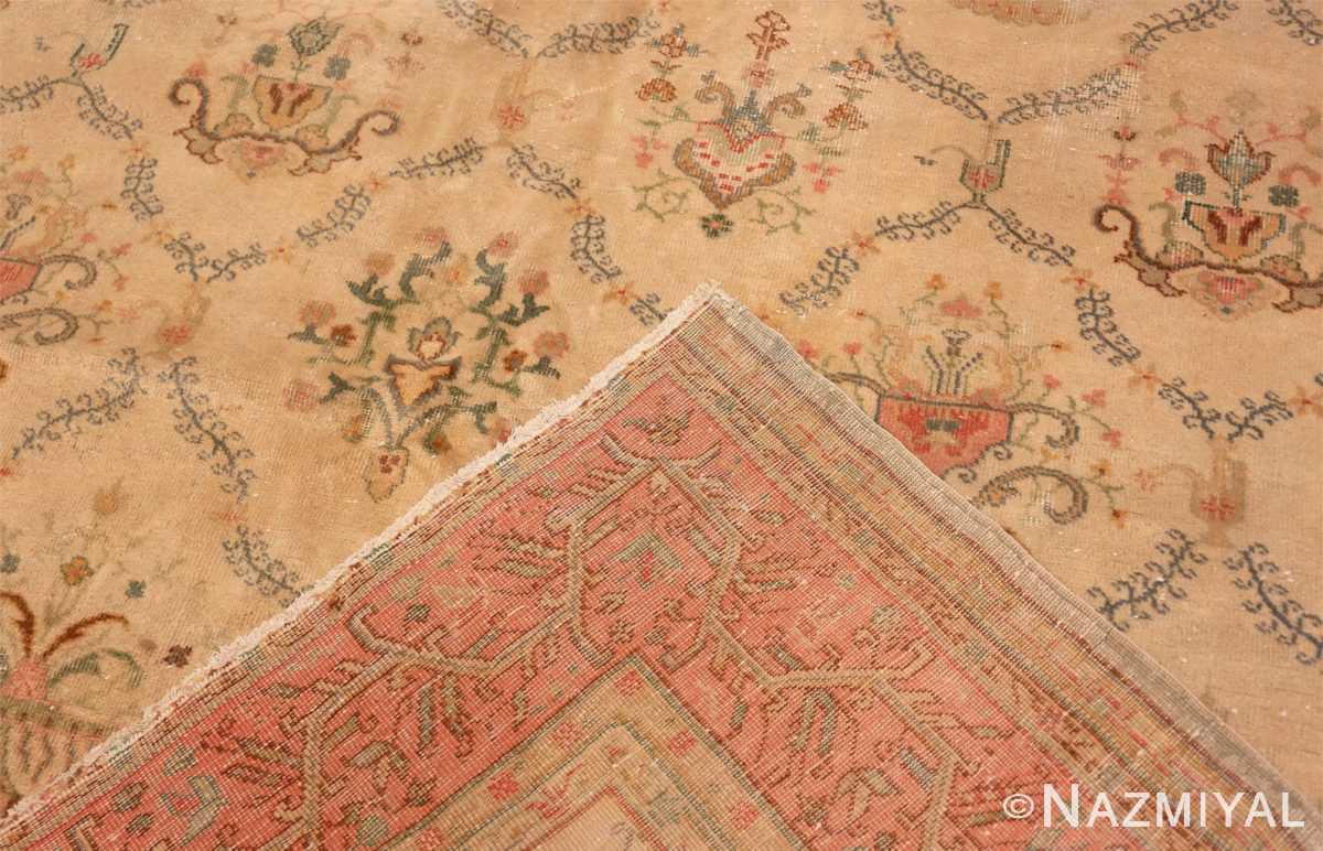Weave Vintage Turkish Sivas carpet 50327 by Nazmiyal Antique Rugs in NYC