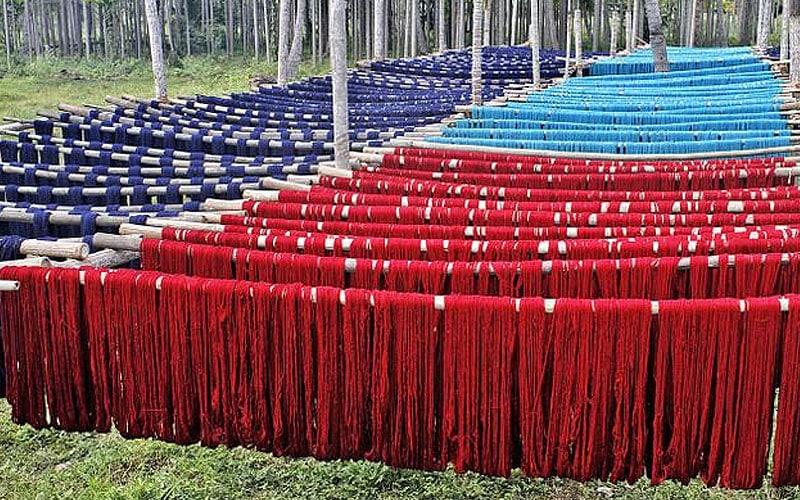 Yarn Drying | Nazmiyal