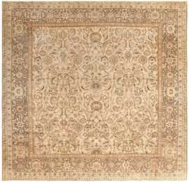 Antique Agra Indian Rug 41735 Detail/Large View