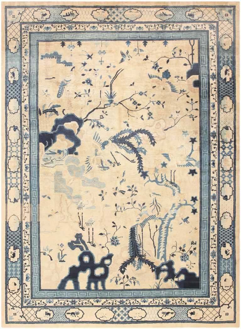 Antique Chinese Rug 46822 Detail/Large View