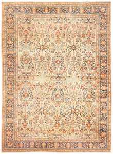 Antique Persian Lilihan Carpet 50191 Nazmiyal