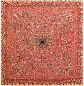 Beautiful Antique Indian Shawl 41481 Nazmiyal