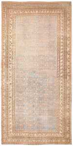 Oversized Antique Pomegranate Design Khotan Rug 50182 Nazmiyal