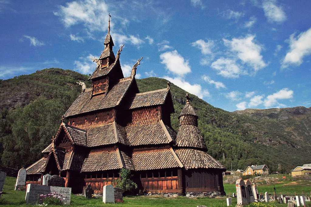 Nazmiyal Stave Church, c. 1132, Norway
