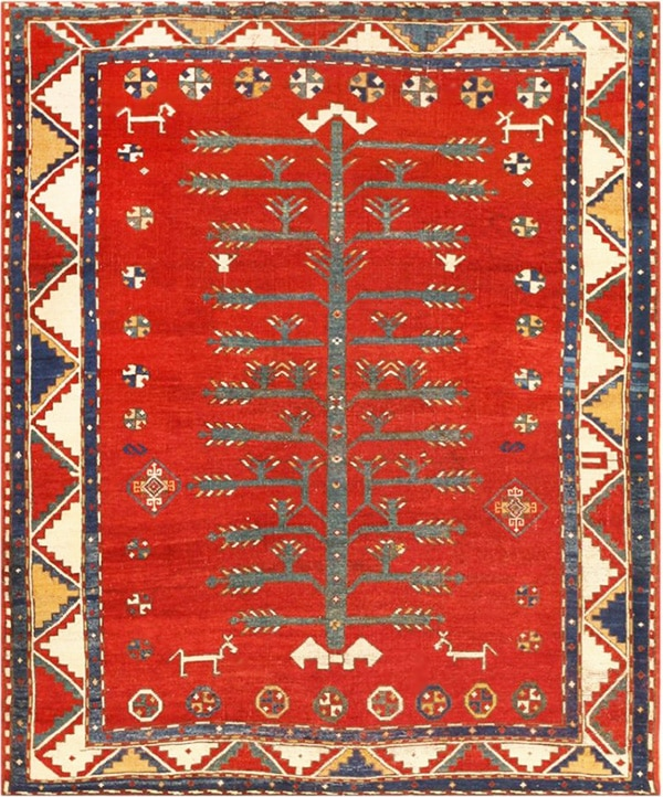 Tribal Tree Of Life Design Rug by Nazmiyal