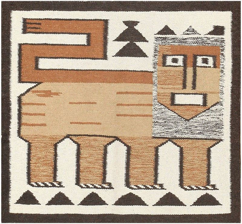 Nazmiyal Vintage Scandinavian Swedish Kilim 48336
