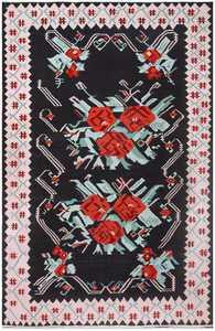 Vintage Turkish Kilim 50323 Detail/Large View