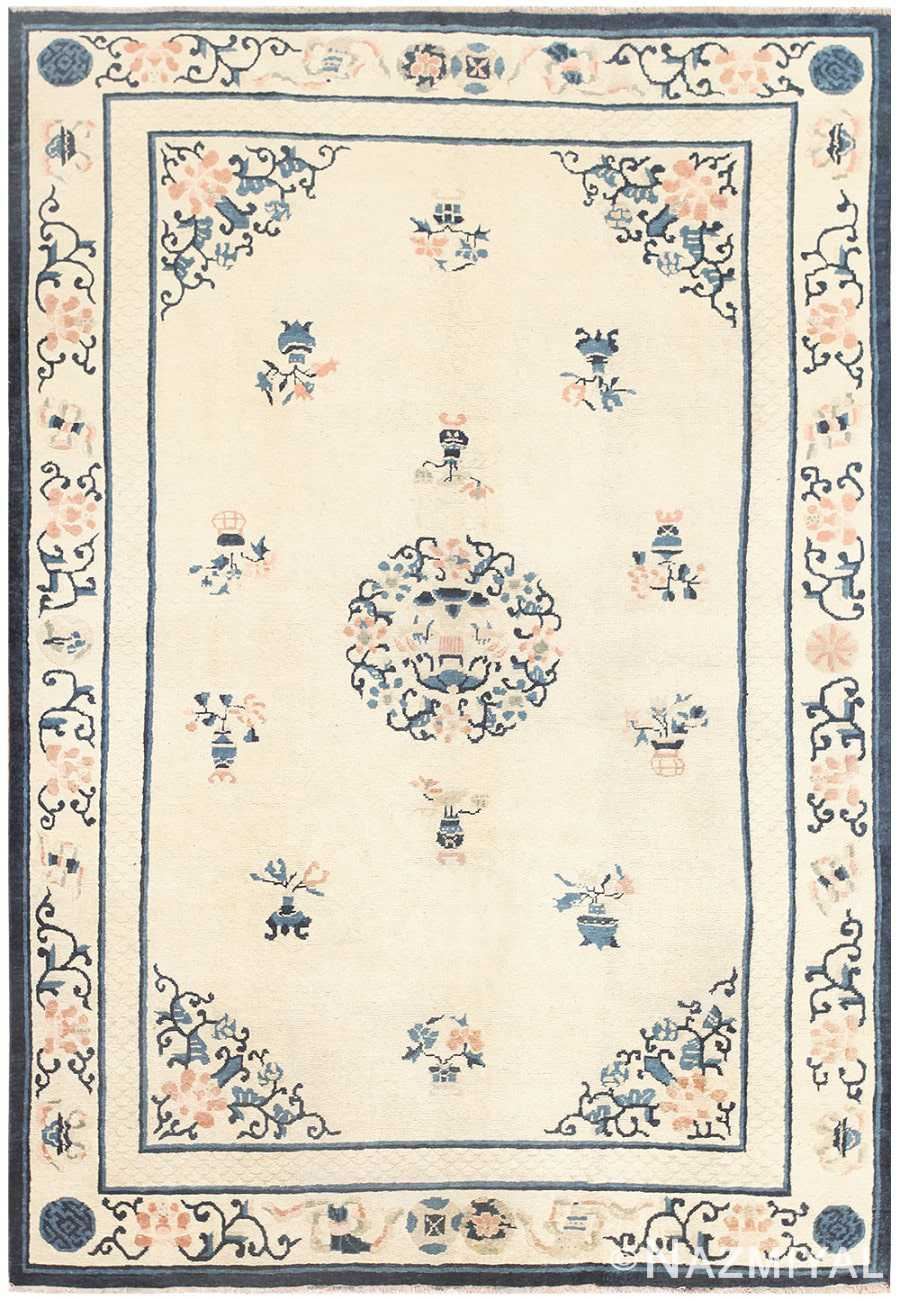 Antique Chinese Carpet 46819 Detail Large View