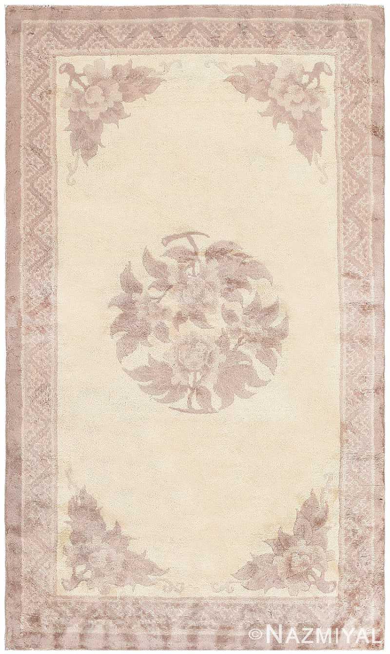 Antique Chinese Carpet 47199 Detail/Large View
