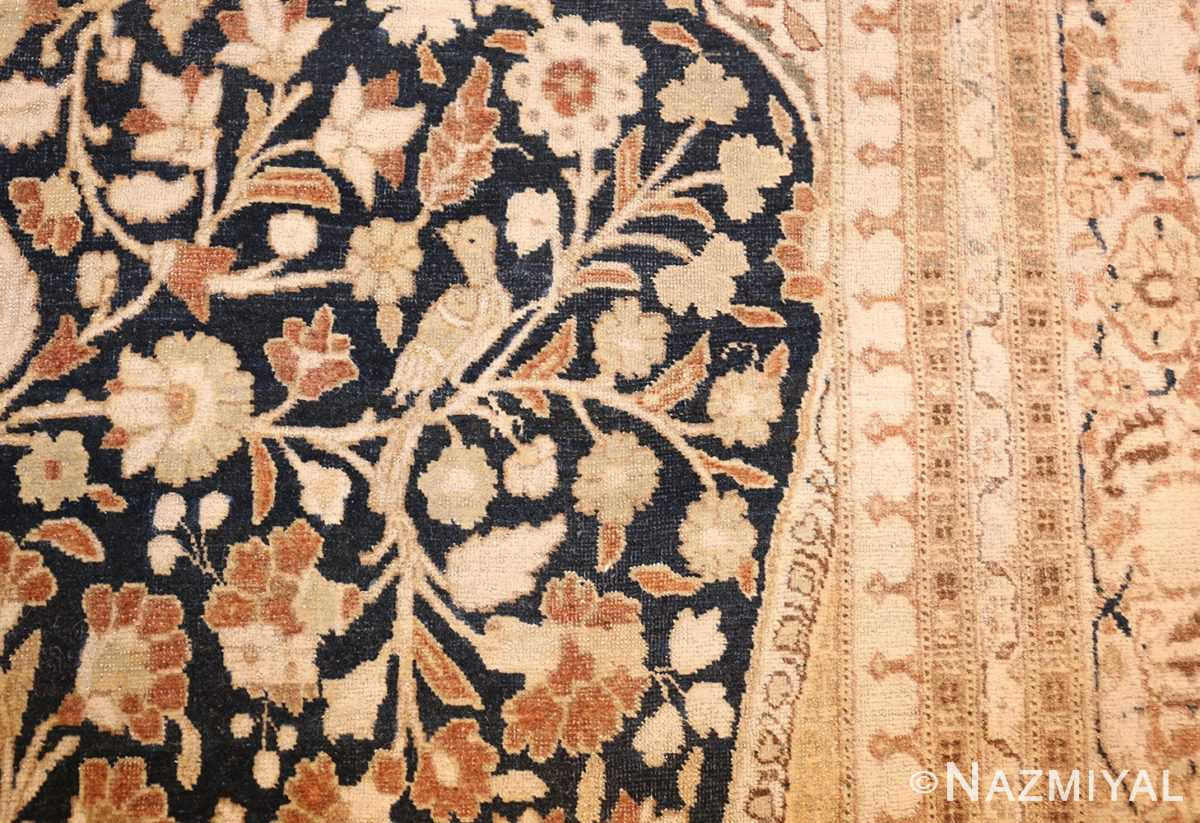 antique haji jalili tabriz carpet 50337 bird Nazmiyal