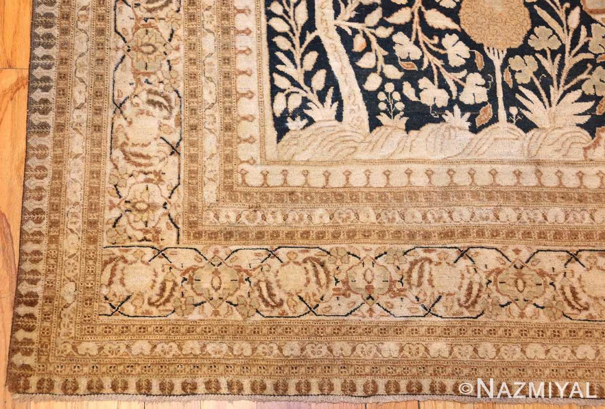 antique haji jalili tabriz carpet 50337 corner Nazmiyal