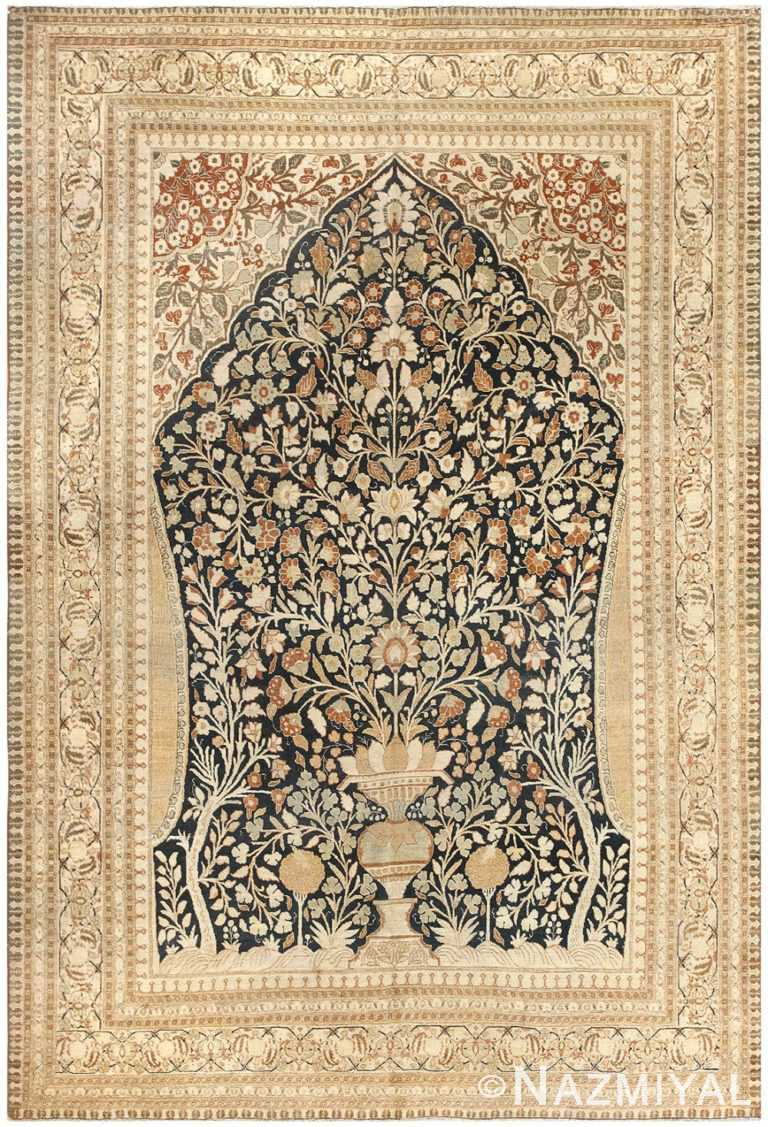 Antique Haji Jalili Tabriz Carpet 50337 Nazmiyal
