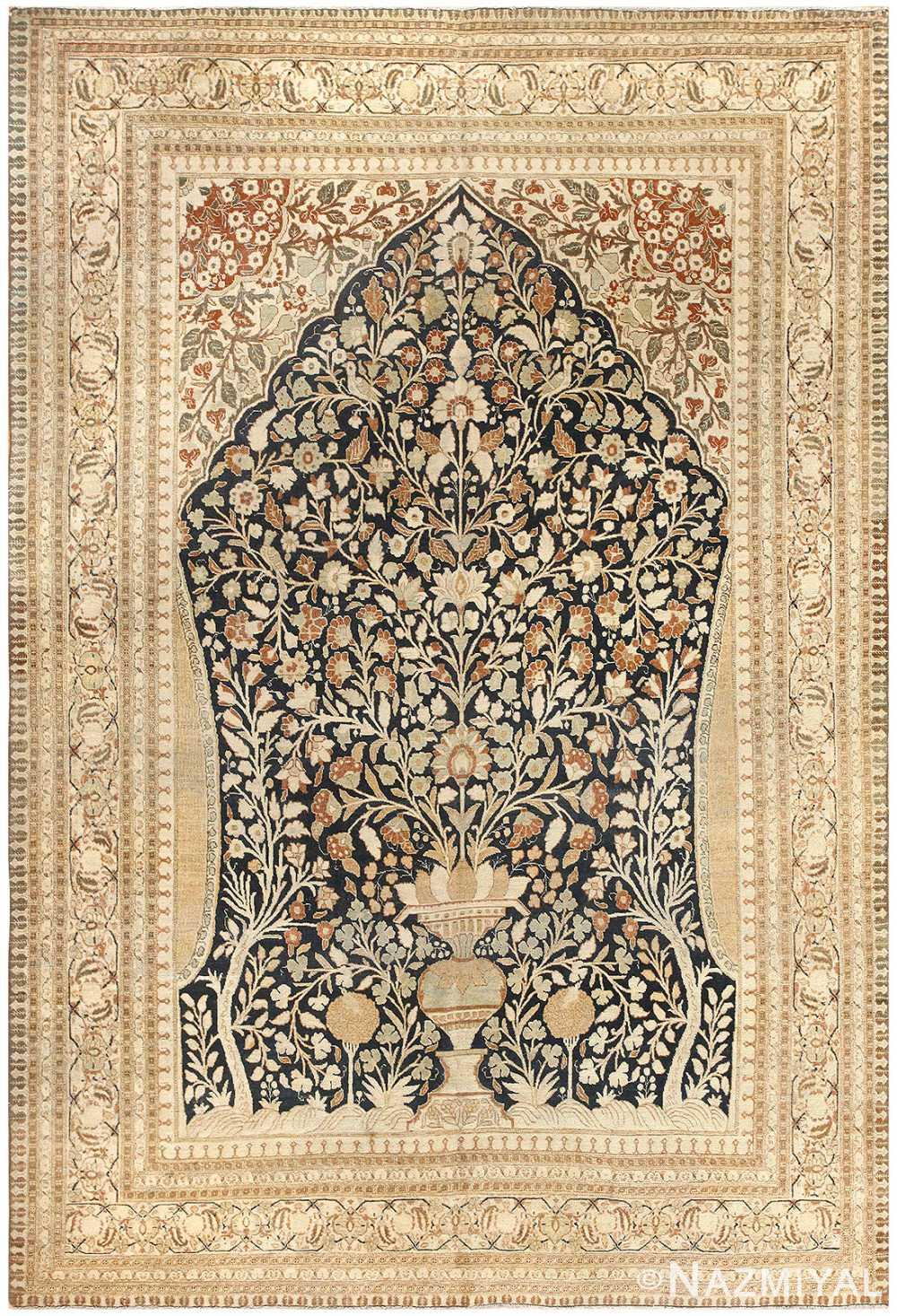 Antique Haji Jalili Tabriz Carpet 50337 Nazmiyal