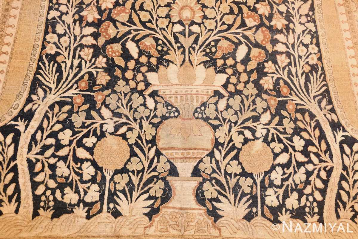 antique haji jalili tabriz carpet 50337 vase Nazmiyal