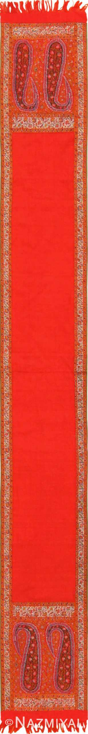antique indian shawl 45487 Nazmiyal