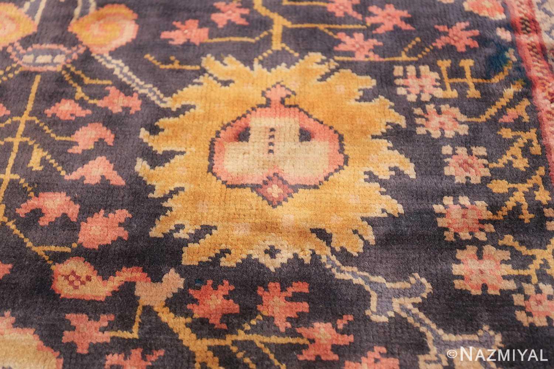 Antique Irish Arts and Crafts Rug 50336 Closeup Texture Nazmiyal