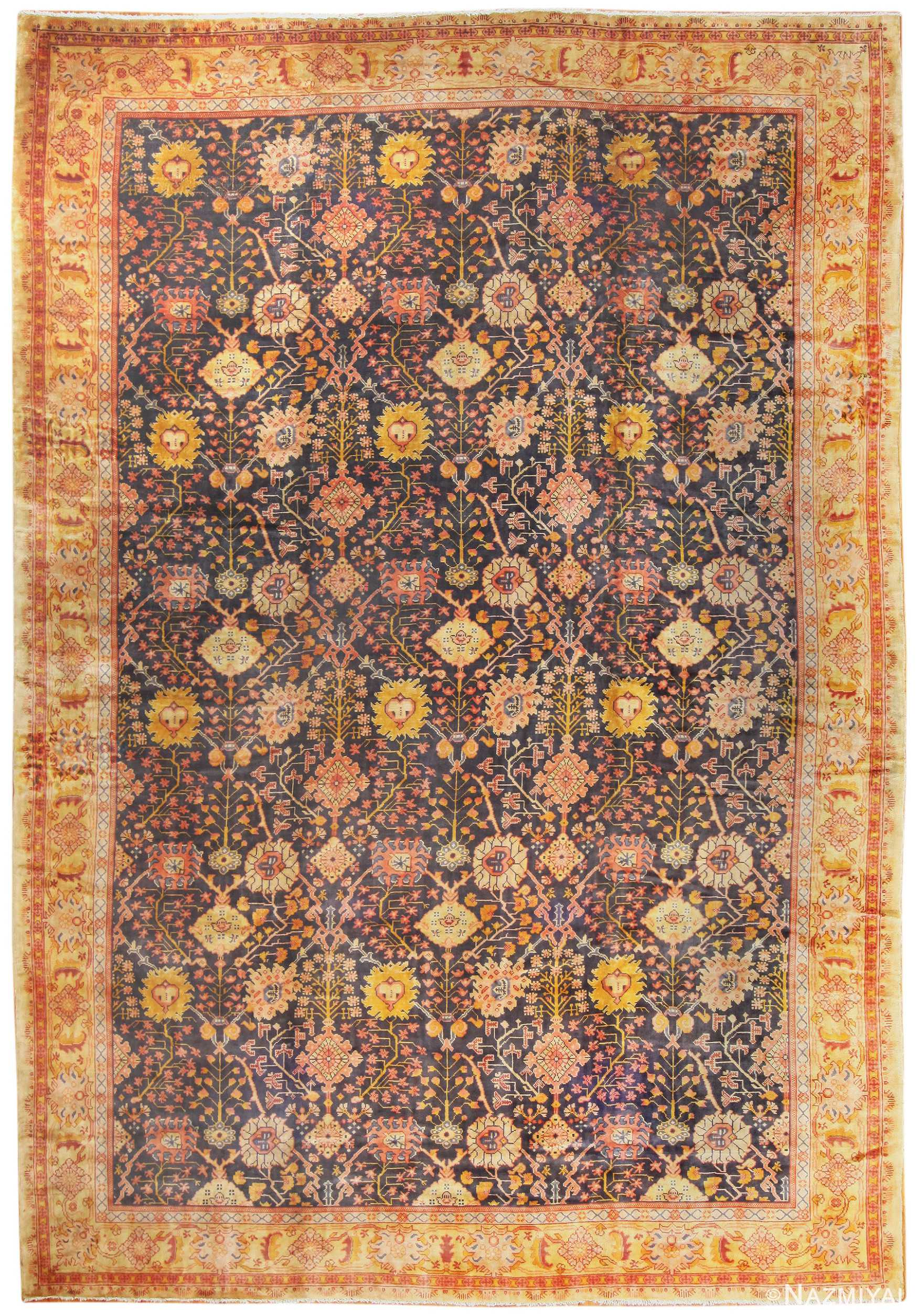 Antique Irish Arts And Crafts Rug 50336 By Nazmiyal Antique Rugs