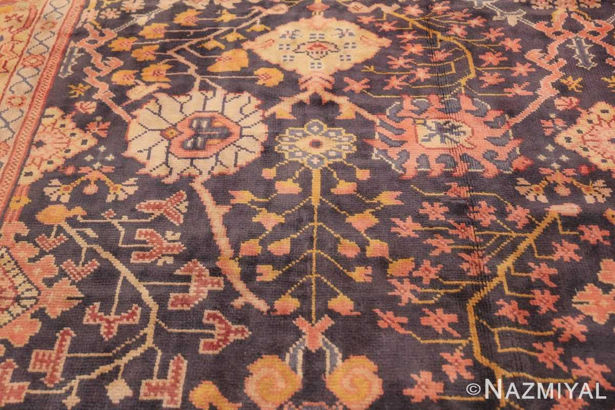 Antique Irish Arts and Crafts Rug 50336 Floral Design Nazmiyal