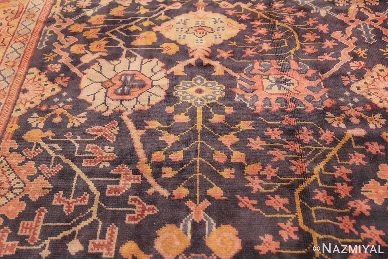 Antique Irish Arts and Crafts Rug 50336 Floral Design Nazmiyal
