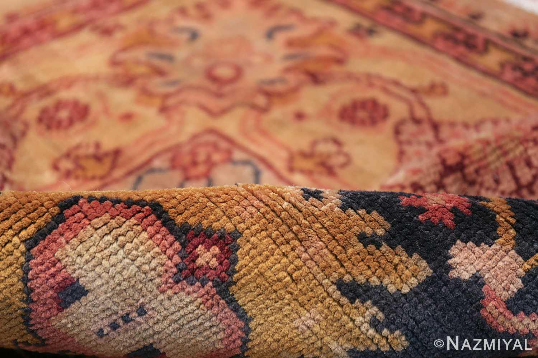 Antique Irish Arts and Crafts Rug 50336 Floral Pile Nazmiyal