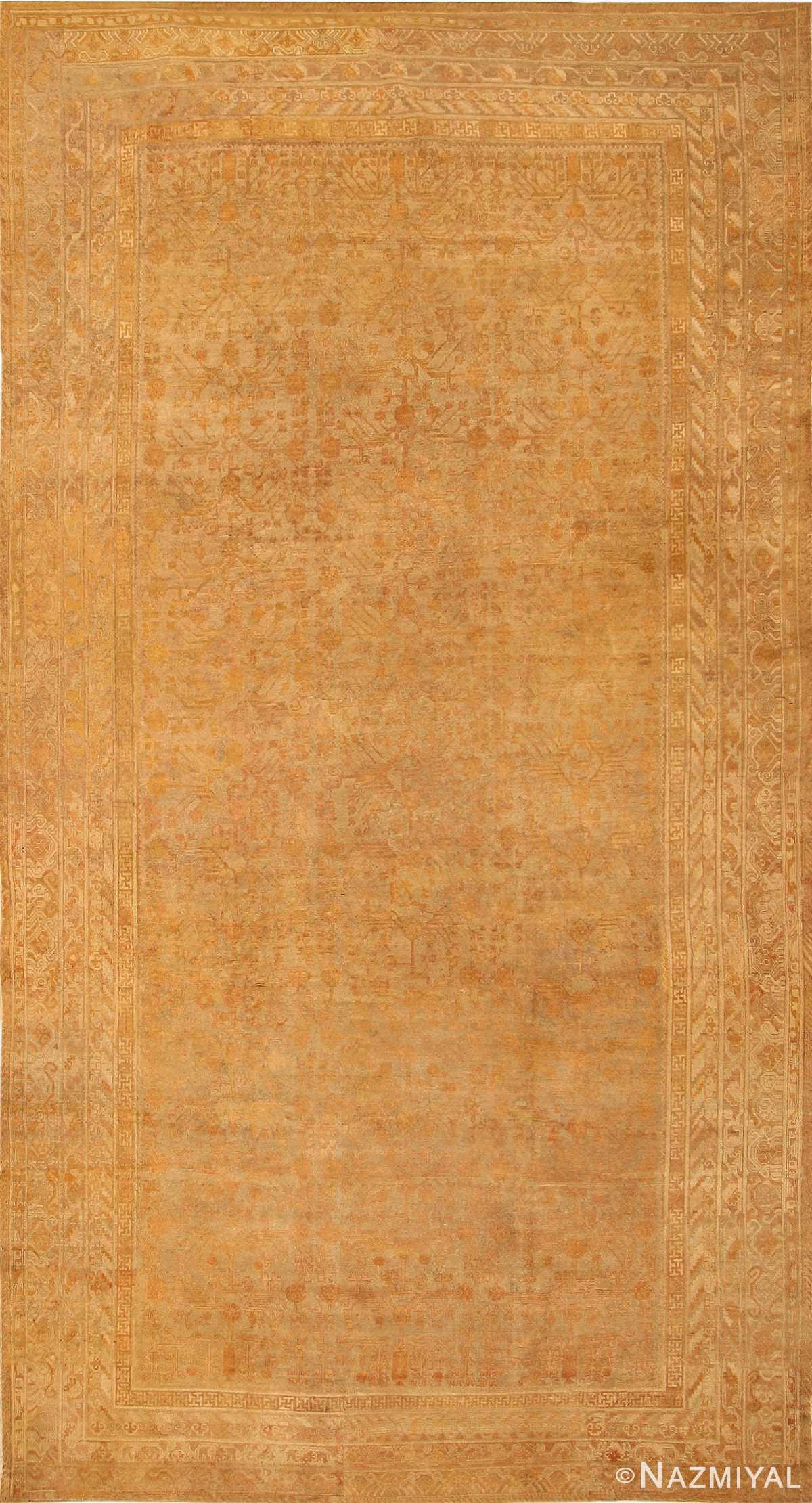Antique Khotan Carpet 2734 Detail/Large View