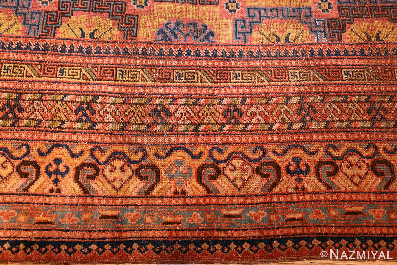 antique khotan rug 46595 border Nazmiyal