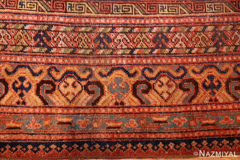 antique khotan rug 46595 closeup Nazmiyal