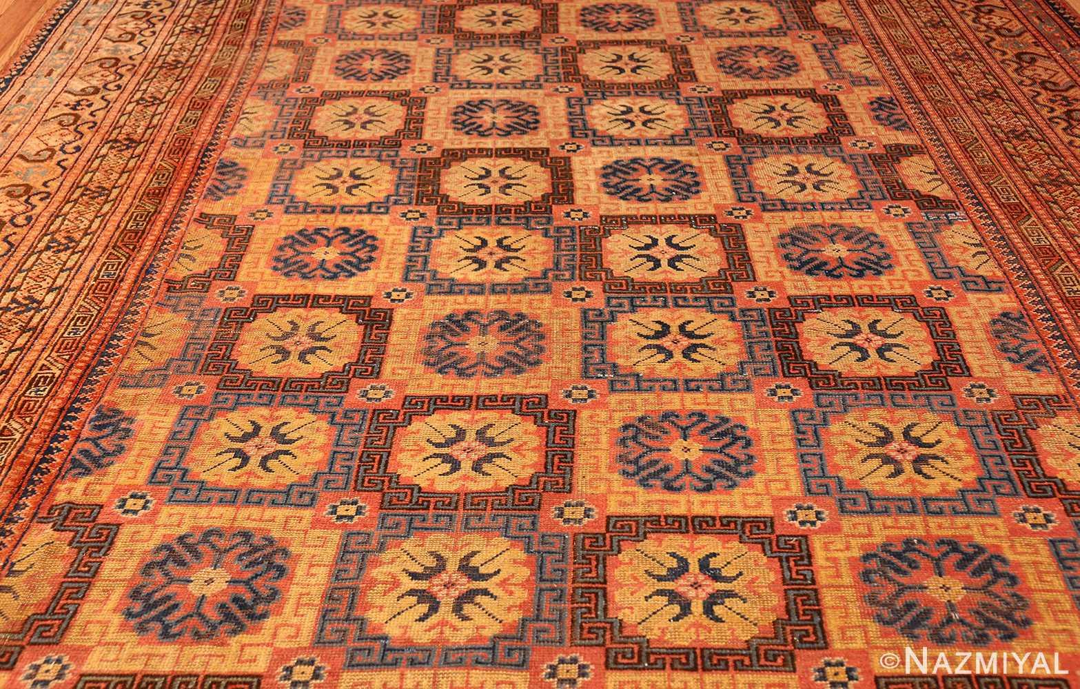 antique khotan rug 46595 field Nazmiyal