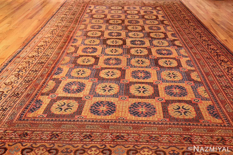 antique khotan rug 46595 full Nazmiyal