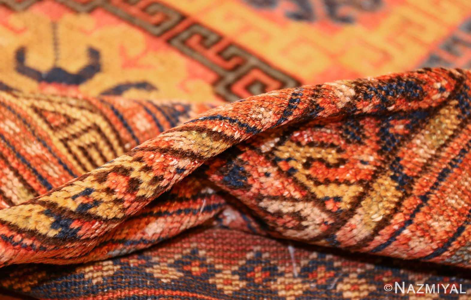 antique khotan rug 46595 pile Nazmiyal