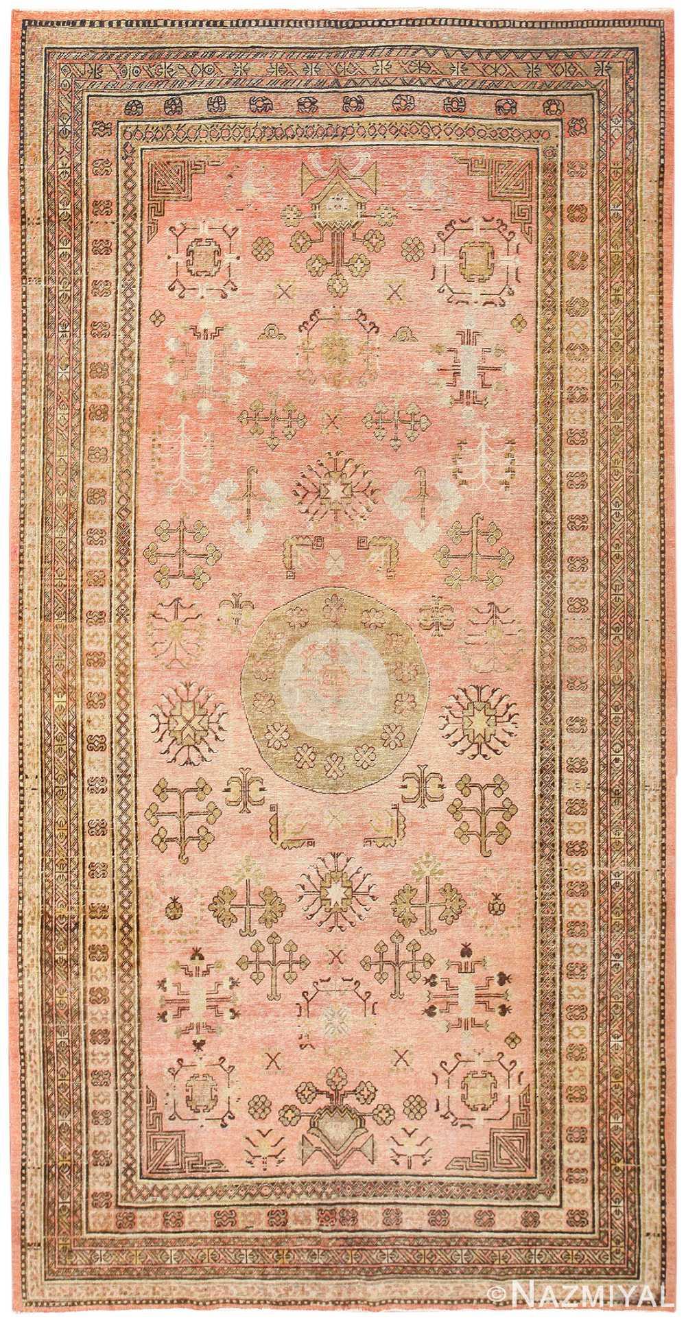 Antique Khotan Rug 50328 Detail/Large View