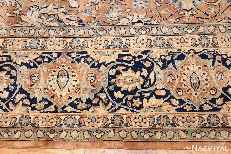 antique persian kerman carpet 50254 border Nazmiyal