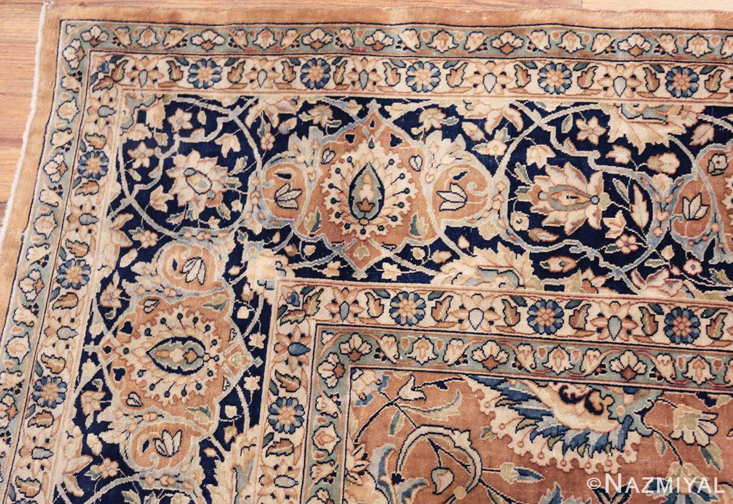 antique persian kerman carpet 50254 corner Nazmiyal