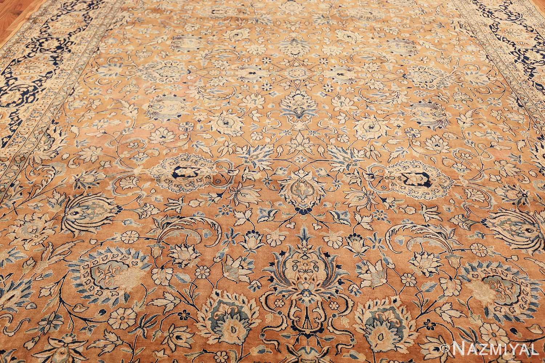 antique persian kerman carpet 50254 field Nazmiyal