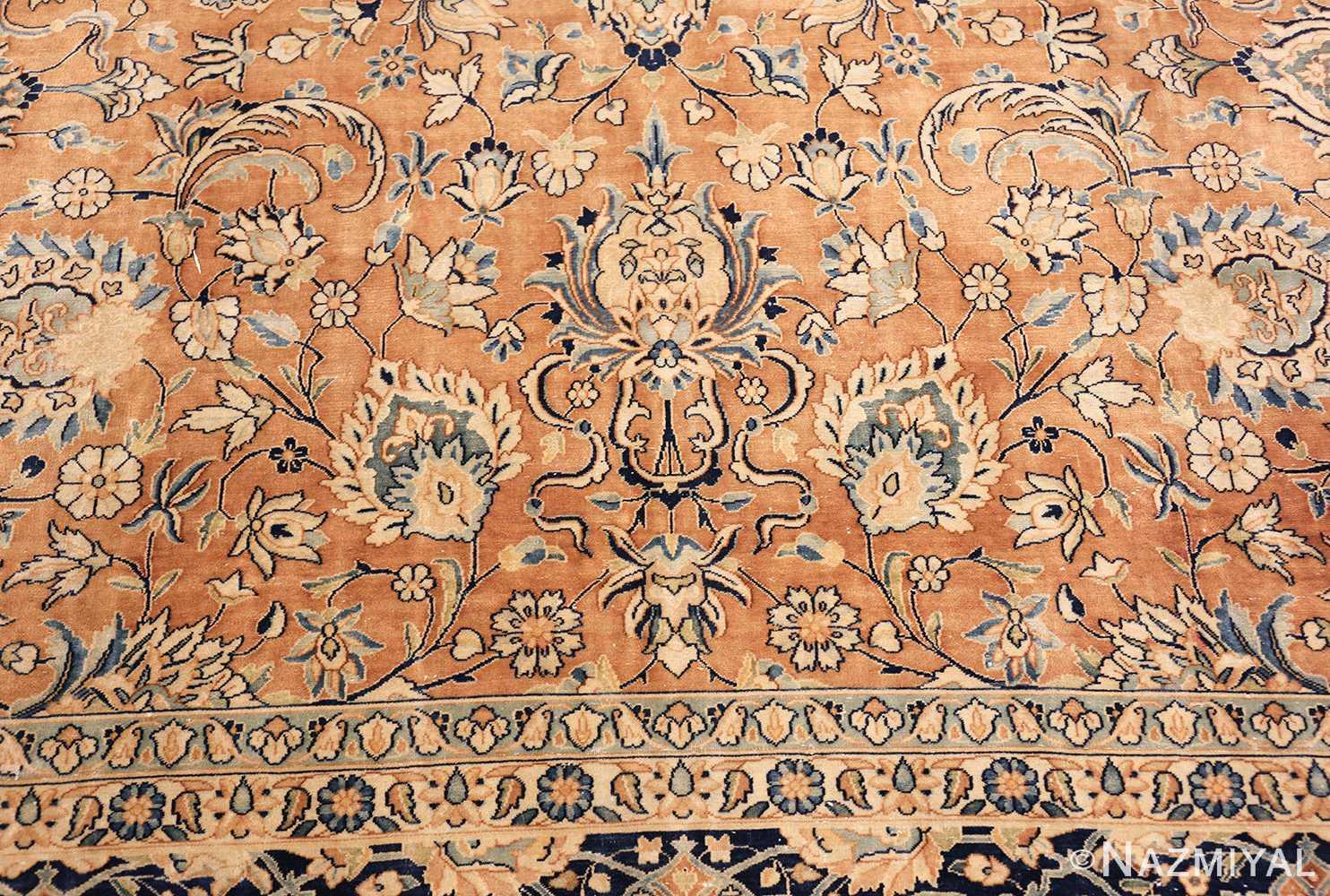antique persian kerman carpet 50254 top Nazmiyal