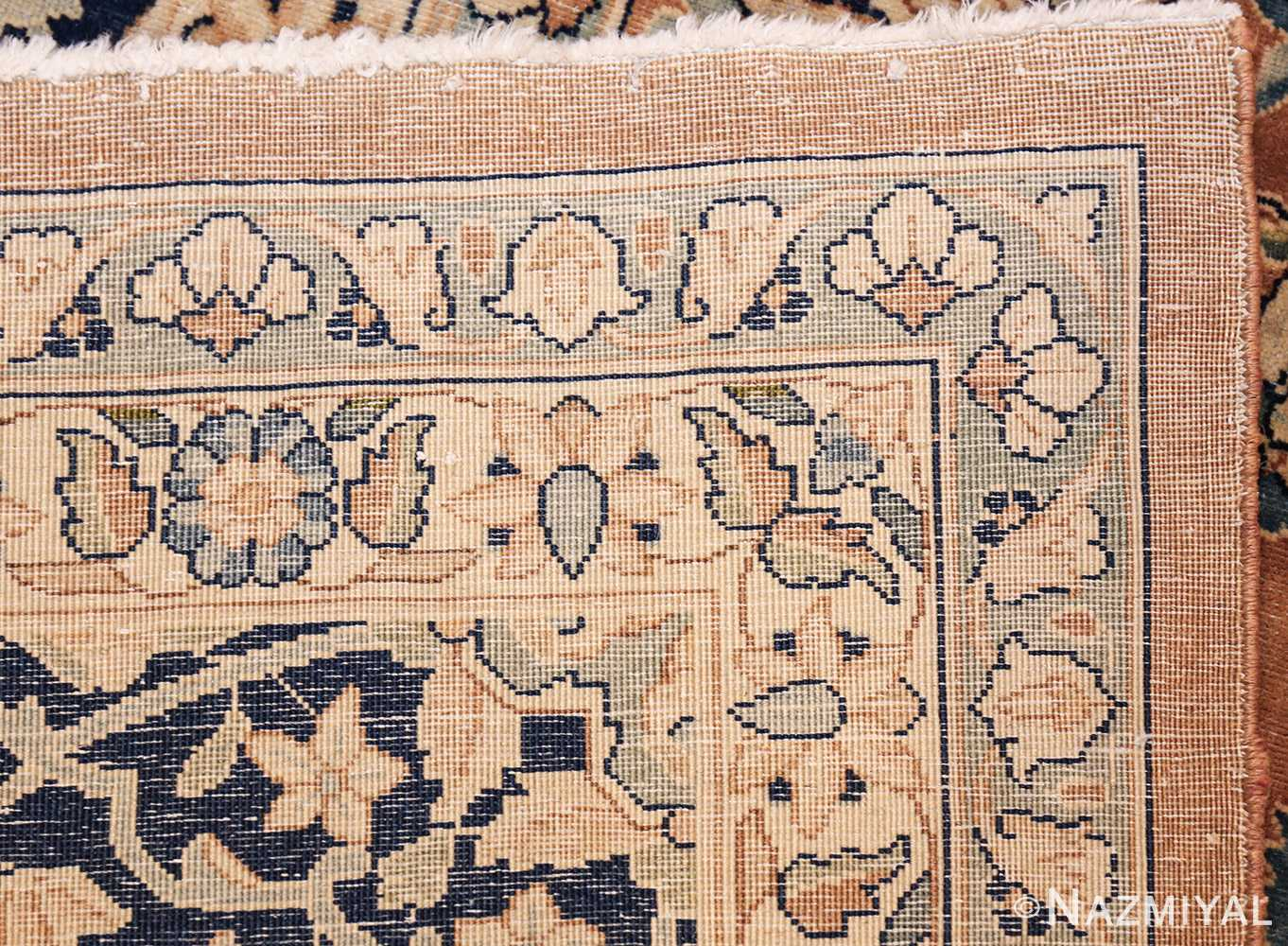 antique persian kerman carpet 50254 weave Nazmiyal