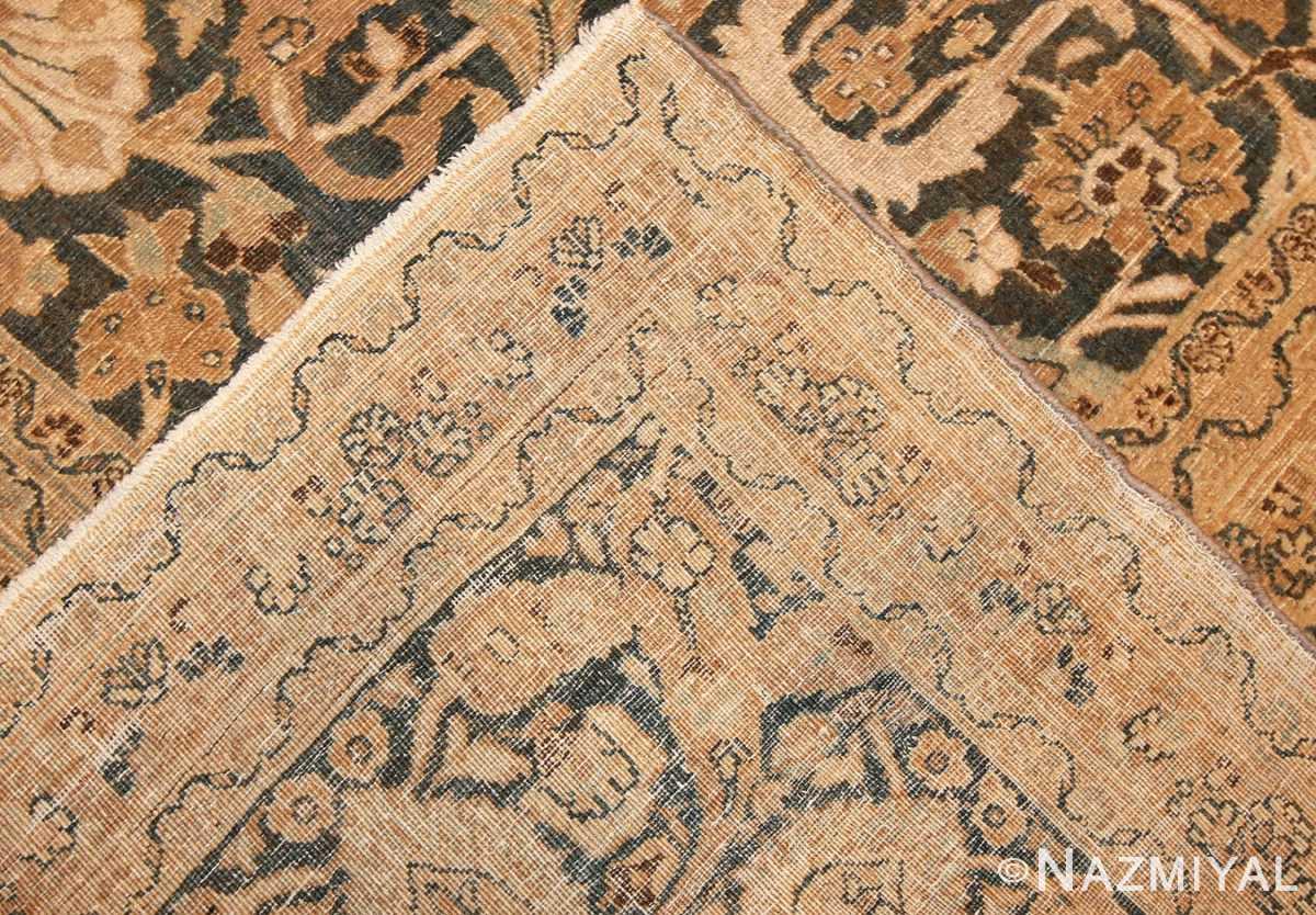 antique persian khorassan carpet 40303 weave Nazmiyal